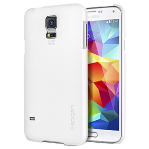 reputable site 81ad8 a27c2 Spigen Samsung S5 Ultra Fit Series White