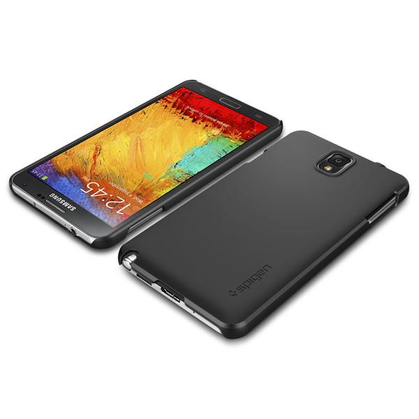 the best attitude da65c 0b4ae Spigen Galaxy Note 3 Ultra Fit Series Smooth Black – Selectel Wireless